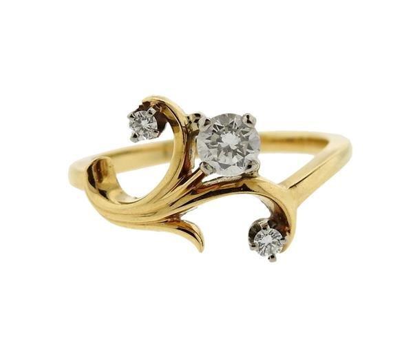 Jabel 18K Gold Diamond Ring