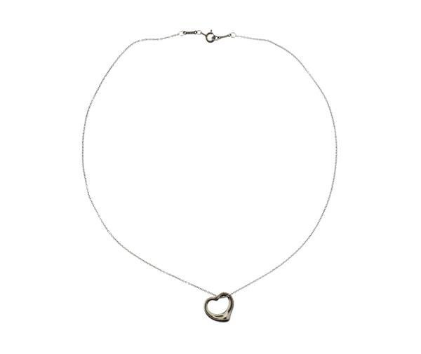 Tiffany & Co Elsa Peretti Sterling Open Heart - 2