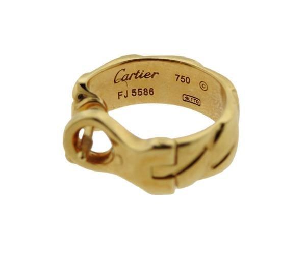 Cartier 18K Gold Hoops Earrings - 3