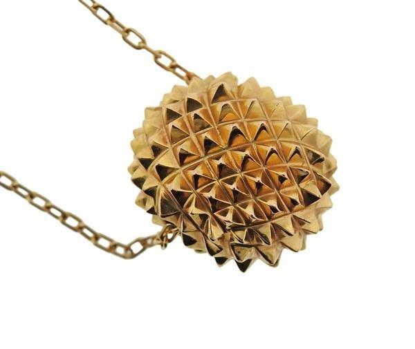Boucheron 18K Gold Hans the Hedgehog Slide Pendant - 3