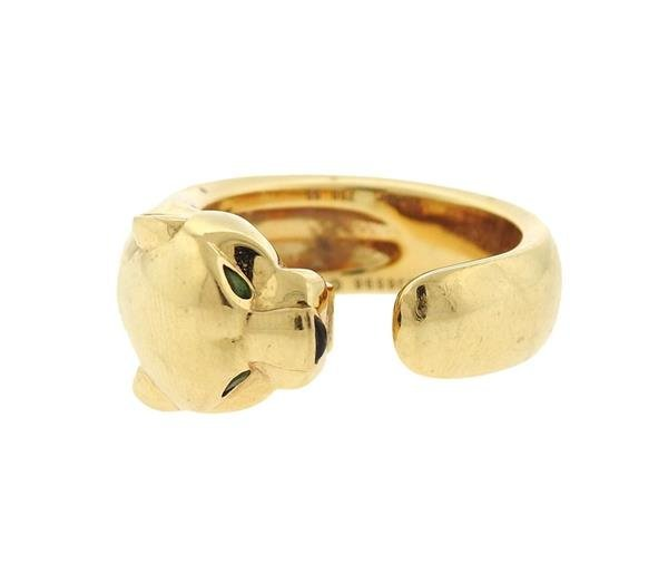 Cartier Panthere 18K Gold Band Ring
