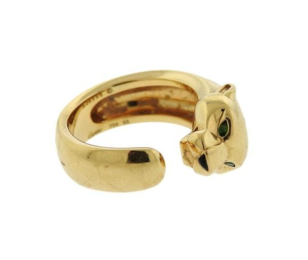 Cartier Panthere 18K Gold Band Ring - 2