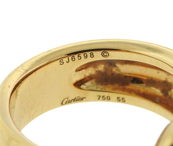 Cartier Panthere 18K Gold Band Ring - 3