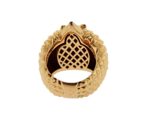 Boucheron 18K Gold Hans the Hedgehog Ring - 3