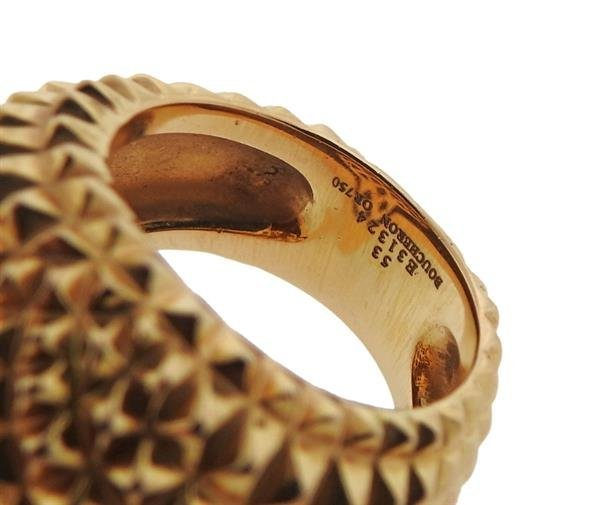 Boucheron 18K Gold Hans the Hedgehog Ring - 4