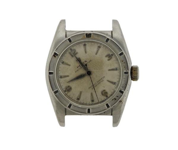 Rolex Bubble Back  Stainless Automatic Watch Ref. 6015