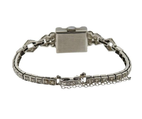 Hamilton Platinum Diamond Lady's Watch - 2