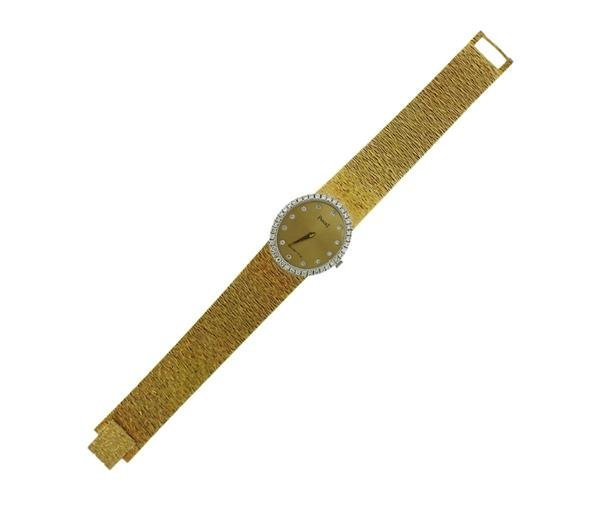 Piaget 18K Gold Diamond Lady's Dress Watch