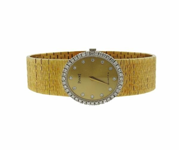 Piaget 18K Gold Diamond Lady's Dress Watch - 2