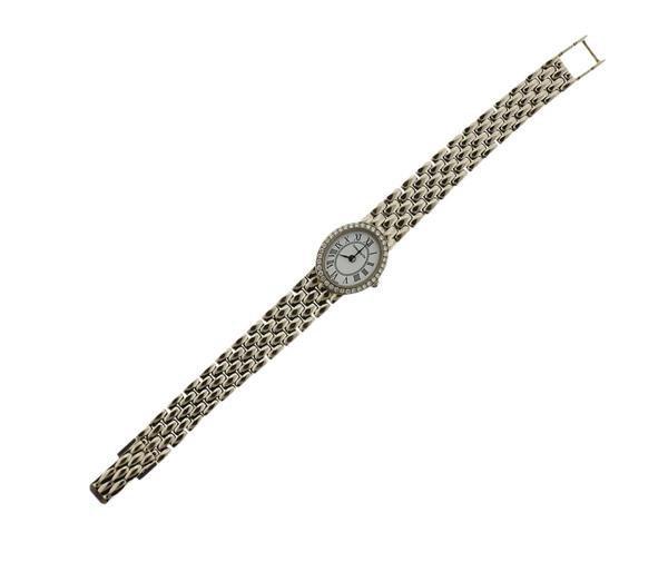 Tiffany & Co 14K Gold Diamond Lady's Watch