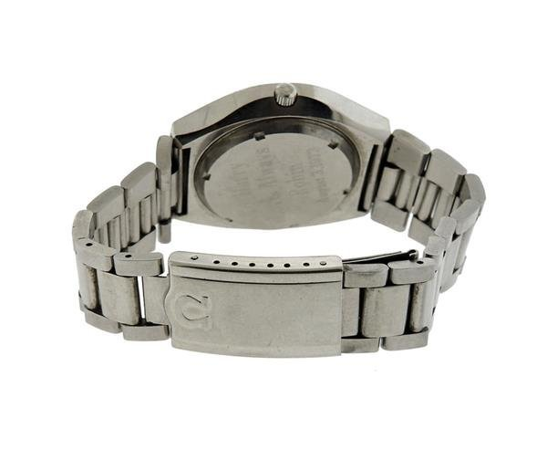 Omega Stainless Electronic Chronometer Watch - 2