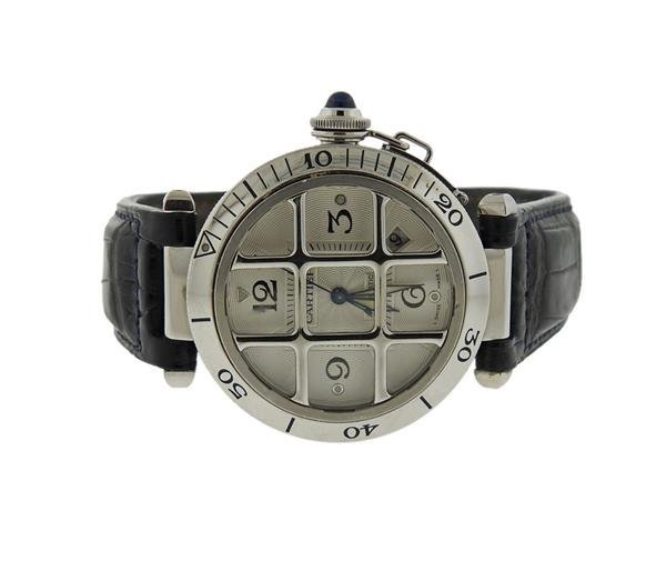 Cartier Pasha Stainless Steel Watch Ref. 2379