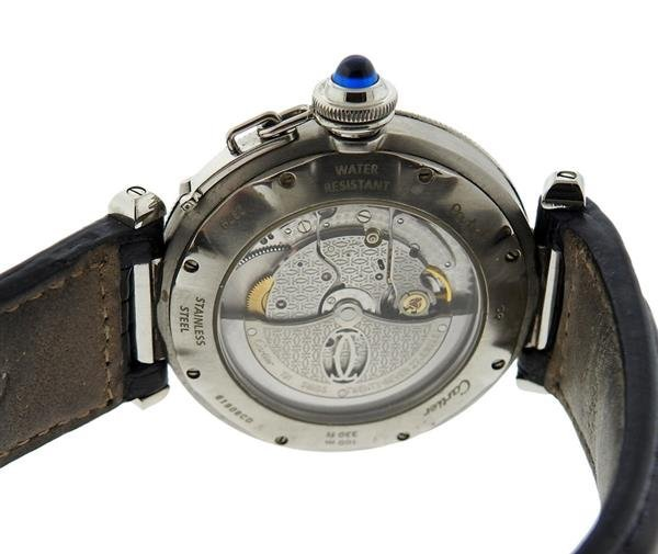Cartier Pasha Stainless Steel Watch Ref. 2379 - 3