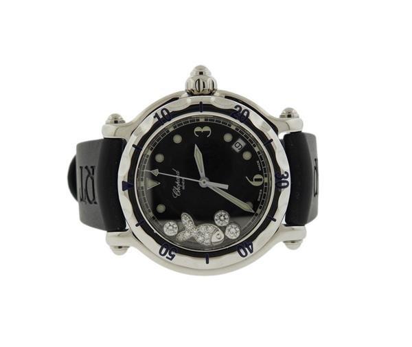 Chopard Happy Sport Diamond Fish Watch Ref. 8347 - 2