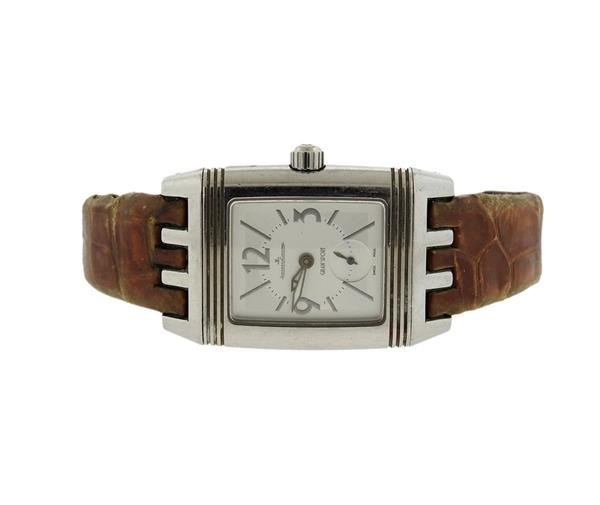 Jaeger LeCoultre Reverso Stainless Steel Watch 296.8.74