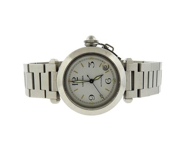 Cartier Pasha Stainless Steel Automatic Watch