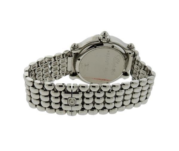 Chopard Happy Sport Sapphire Diamond Watch Ref. 8347 - 3