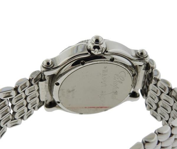 Chopard Happy Sport Sapphire Diamond Watch Ref. 8347 - 4