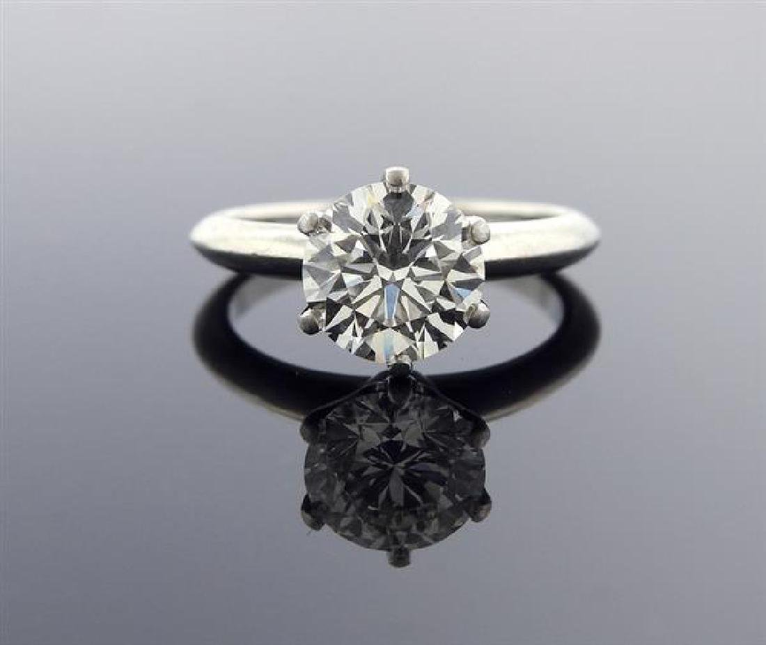 Tiffany & Co. 2.65ct H VVS1 Diamond Platinum
