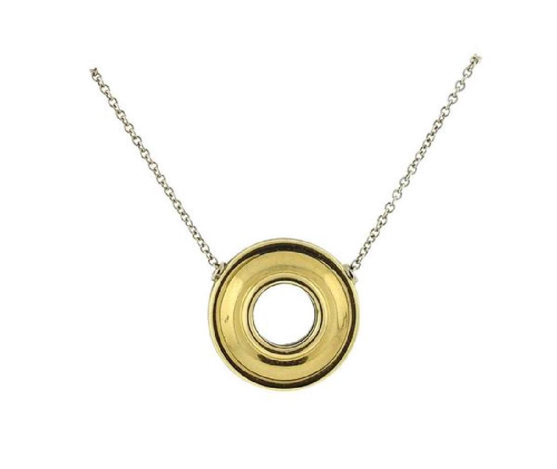 Tiffany & Co Paloma Picasso 18K Gold Sterling
