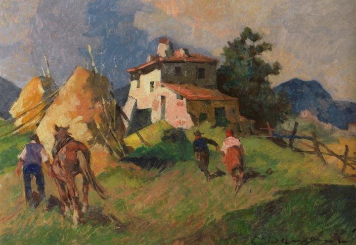13: DOMENICI CARLO (Livorno 1898 - 1981)