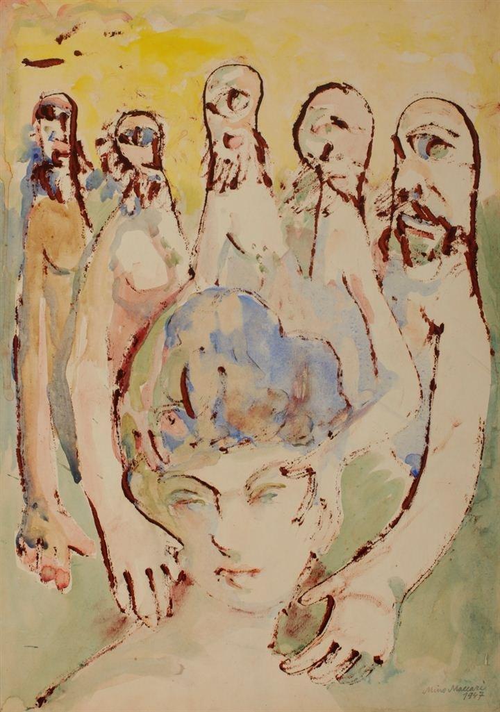 MACCARI MINO (1889-1989)