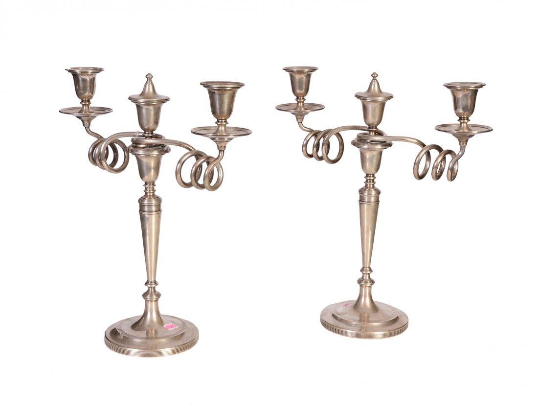 Couple of candelholders