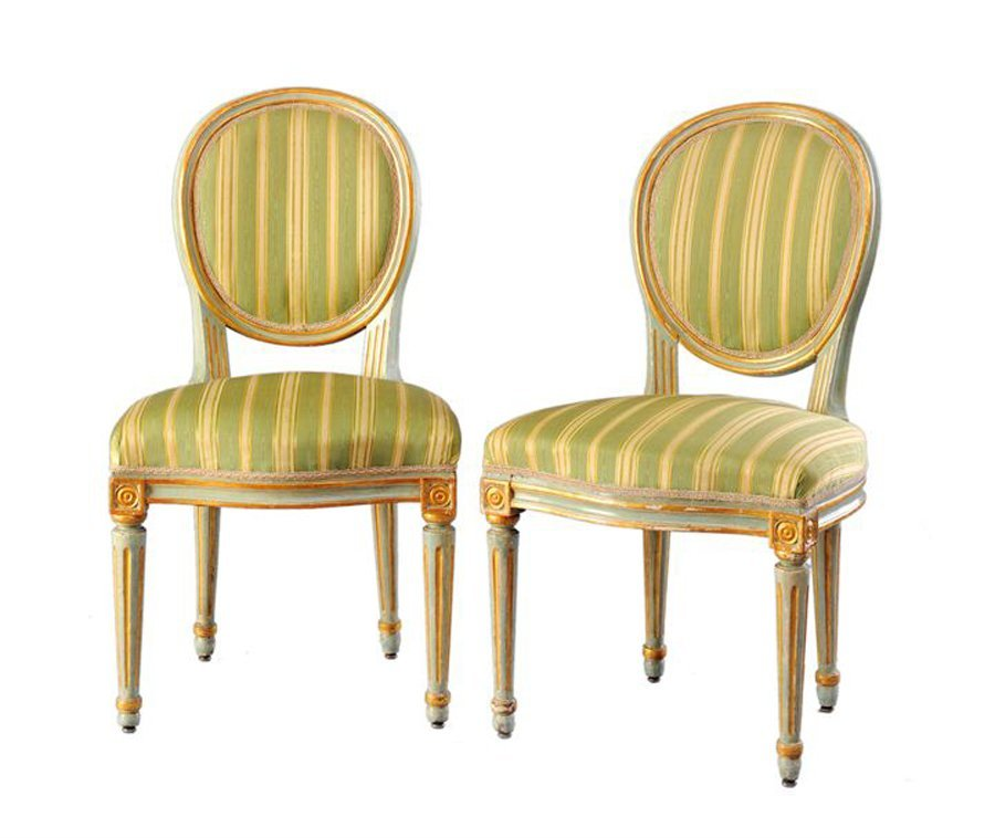 Lot of six chairs