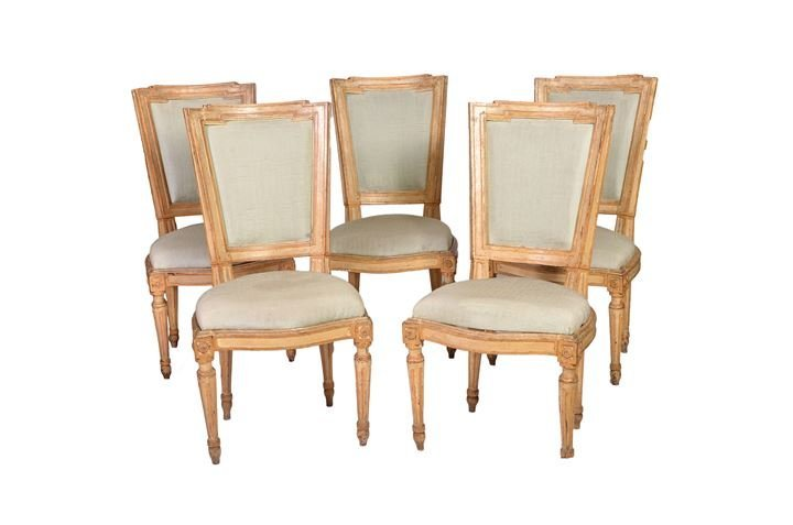Lot of five chairs