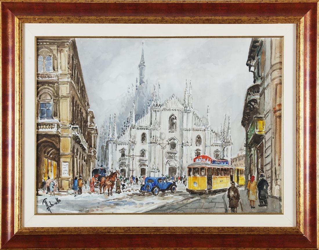 ANTONELLO ZECCA Milan cathedral.