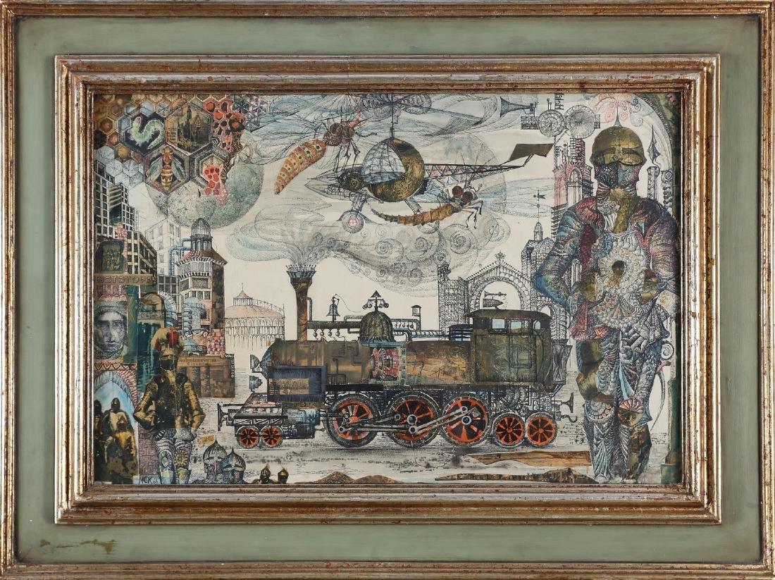 MICHAEL COUDENHOVE-KALERGY The iron world.