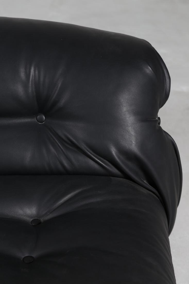 AFRA & TOBIA SCARPA Divano in acciaio cromato plastica - 6