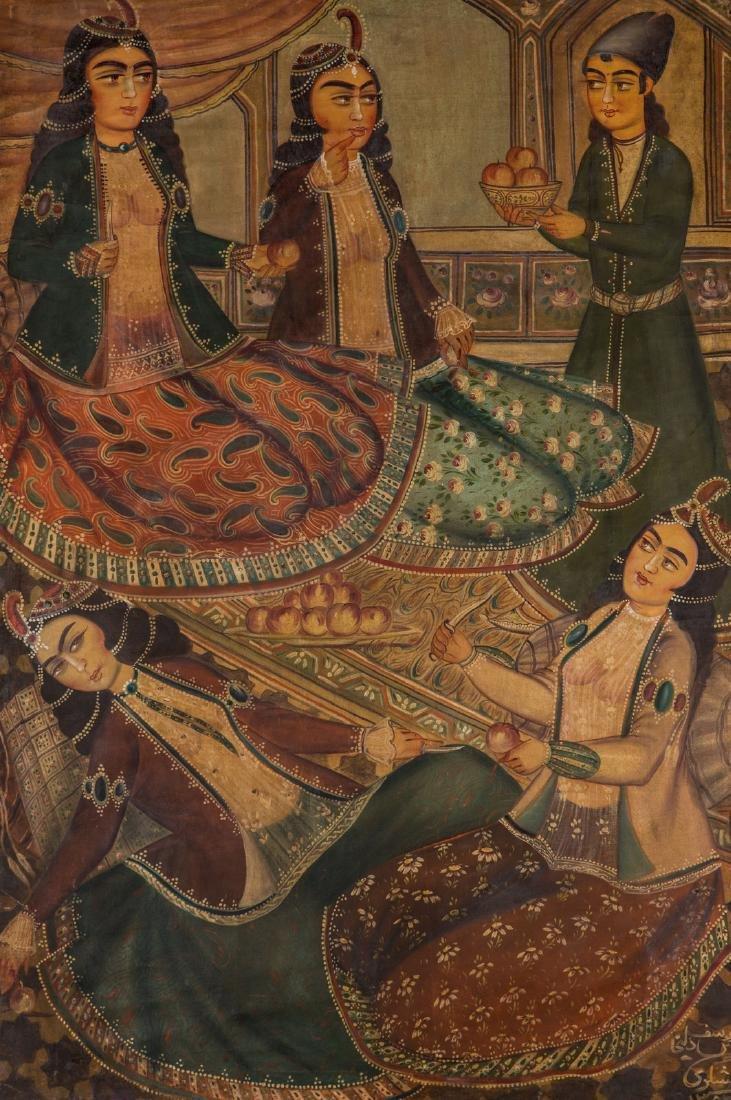 Arte Islamica  Lashgari. Coffee house painting Youseph