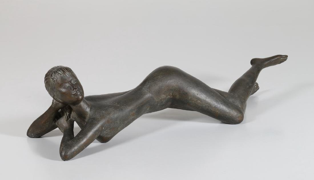 GIOVAN BATTISTA MITRI Bronze fusion, outstretched