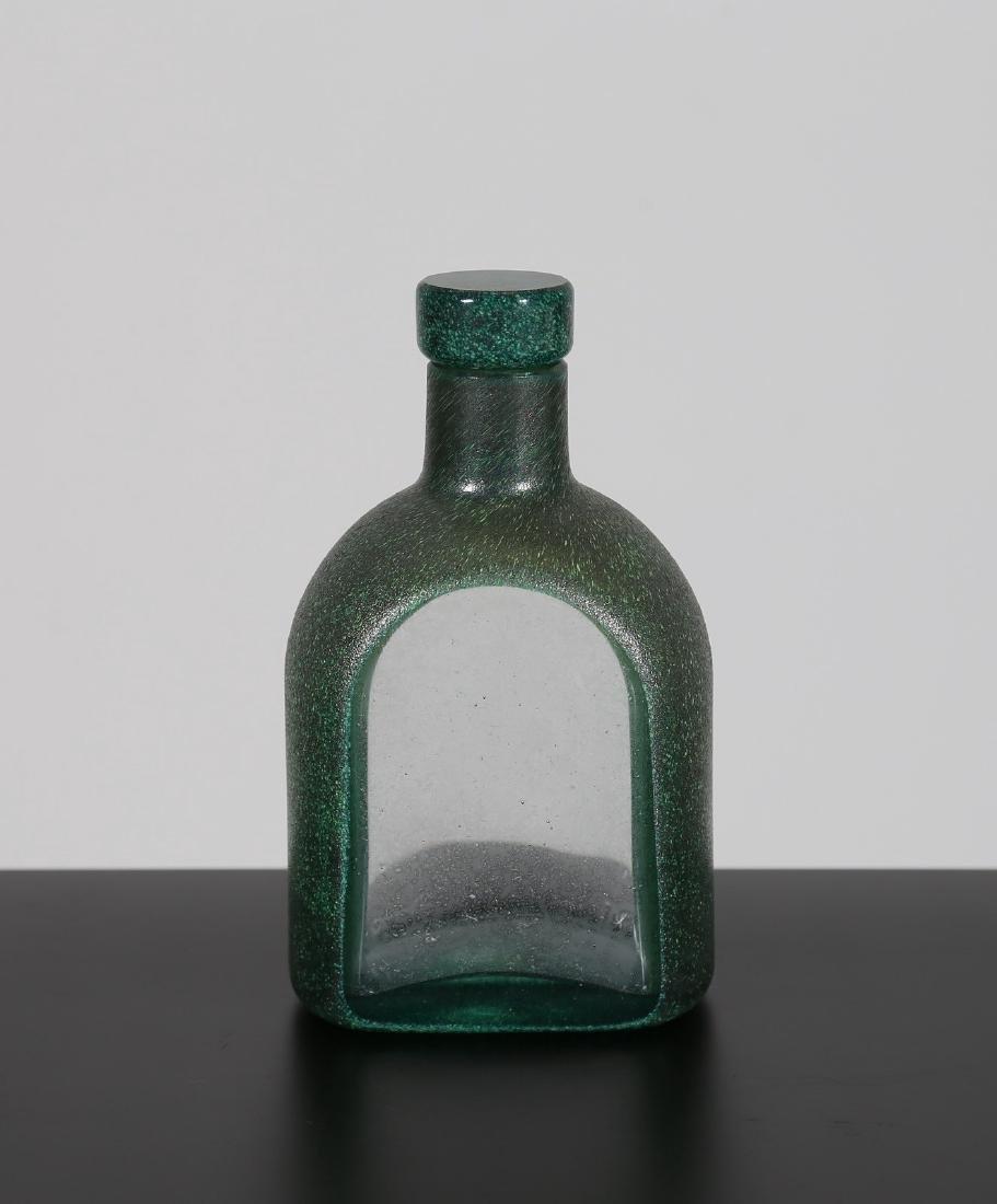 TONI ZUCCHERI Bottiglia con tappo, per Barovier & Toso.