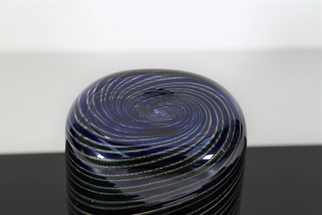 GINO CENEDESE Vaso a spirale anni 60. - 3