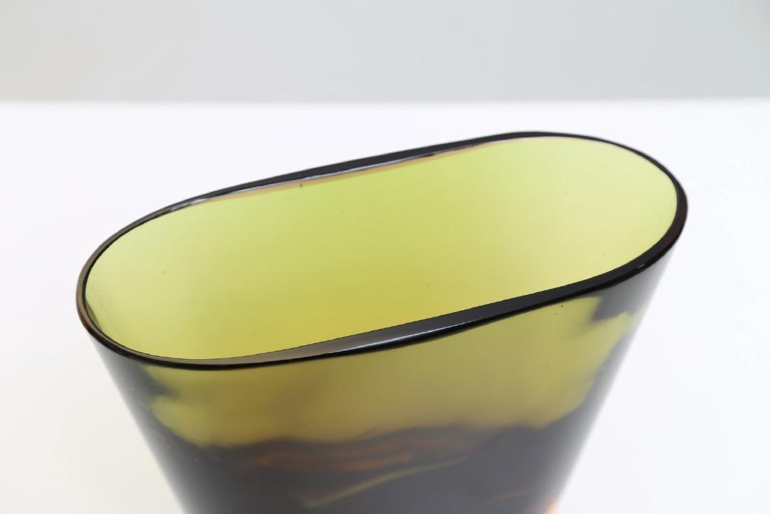 FLAVIO POLI Vaso in vetro sommerso per Seguso vetri - 2