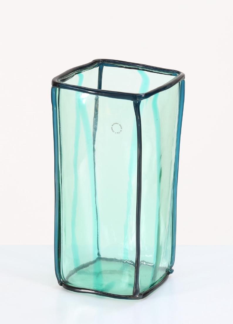 FULVIO BIANCONI Vaso  serie Edipedos  per Venini 1999,