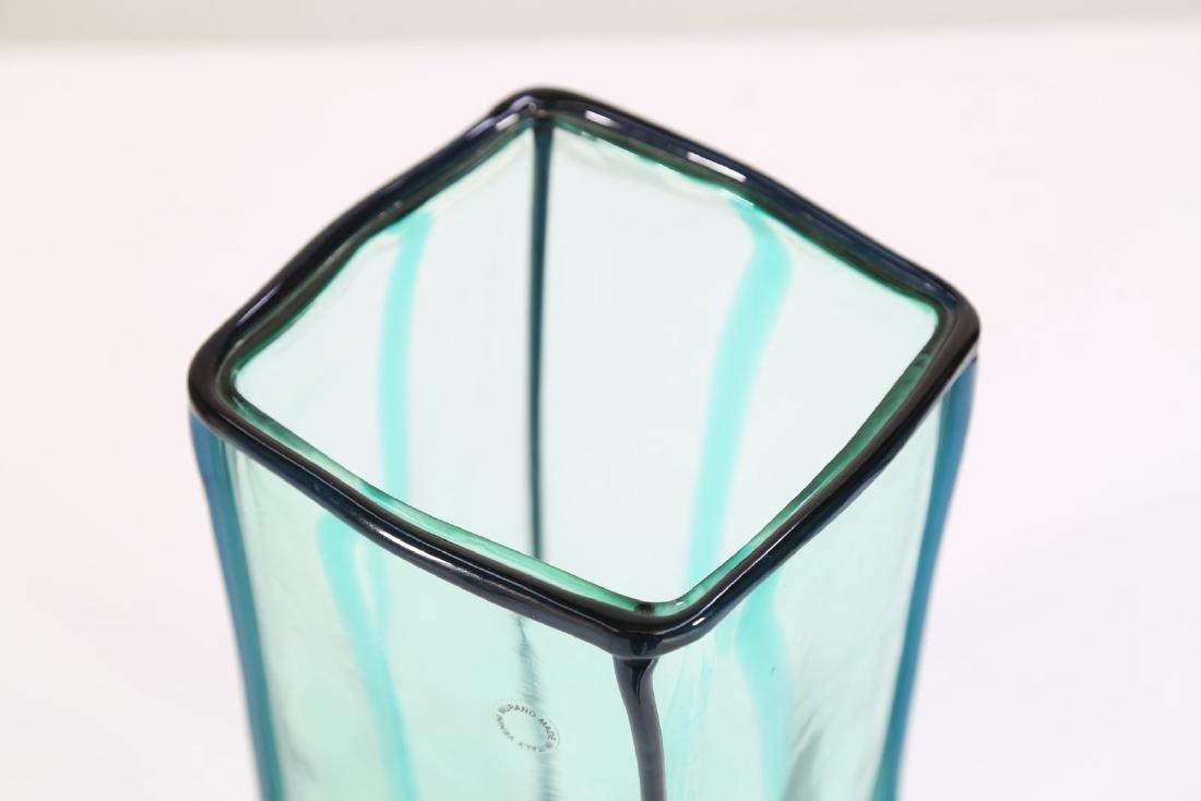 FULVIO BIANCONI Vaso  serie Edipedos  per Venini 1999, - 2