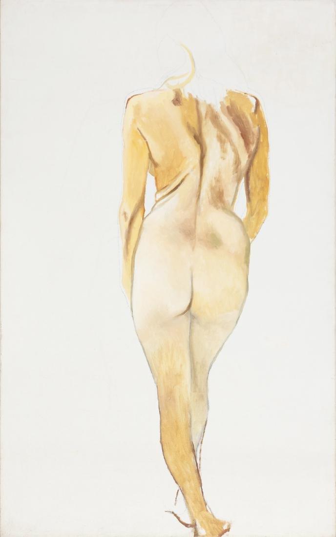 RENATO GUTTUSO Nude of back.