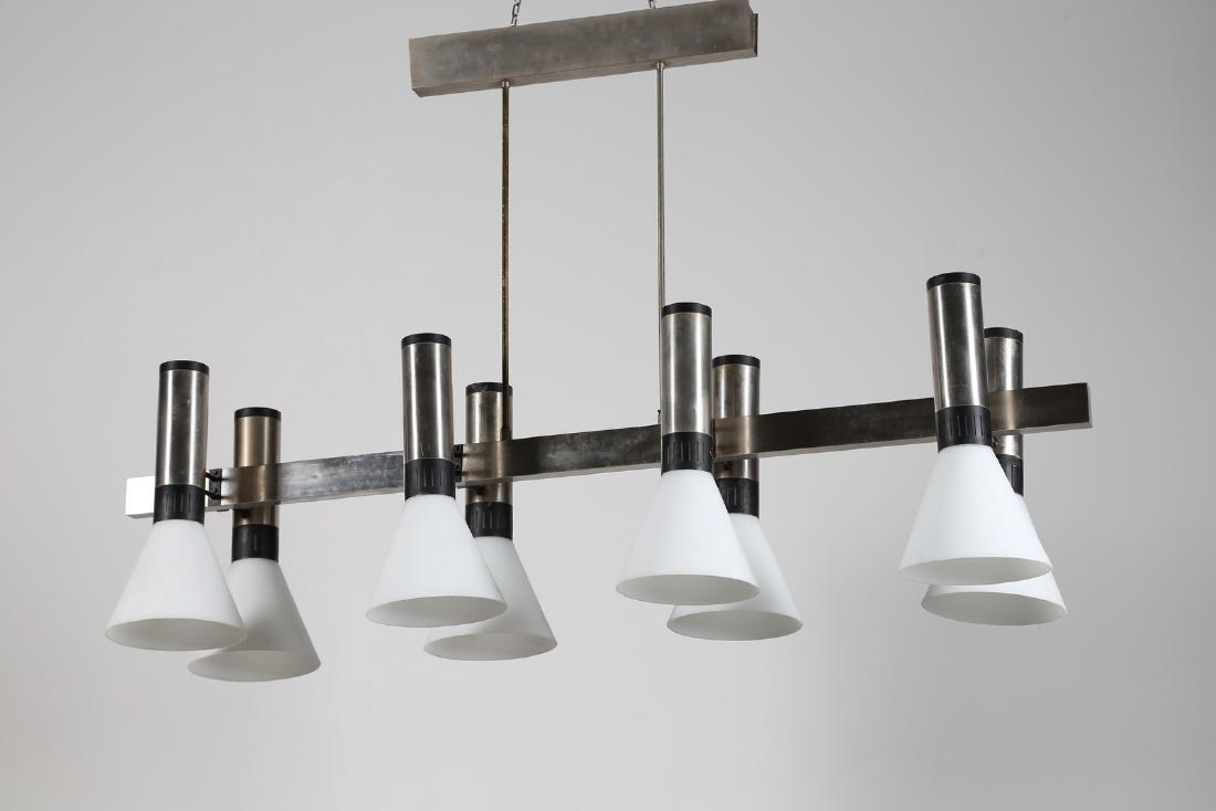 STILNOVO  Lampada a sospensione otto luci in ottone