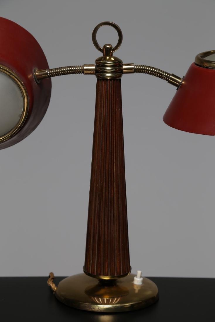 ARREDOLUCE  Lampada da tavolo in ottone metallo laccato - 2