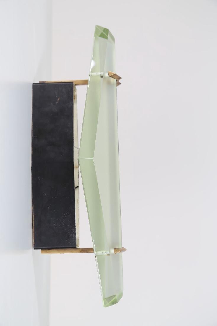 MAX INGRAND Coppia di lampade da parete in vetro - 2