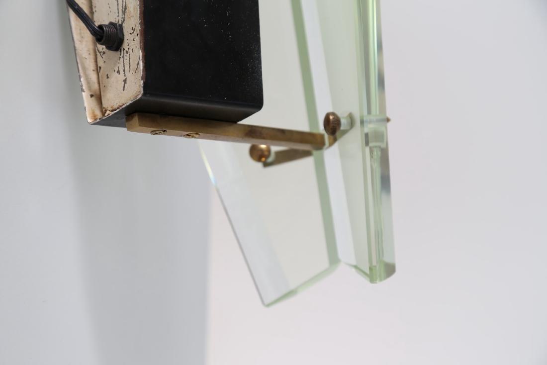 MAX INGRAND Coppia di lampade da parete in vetro - 4