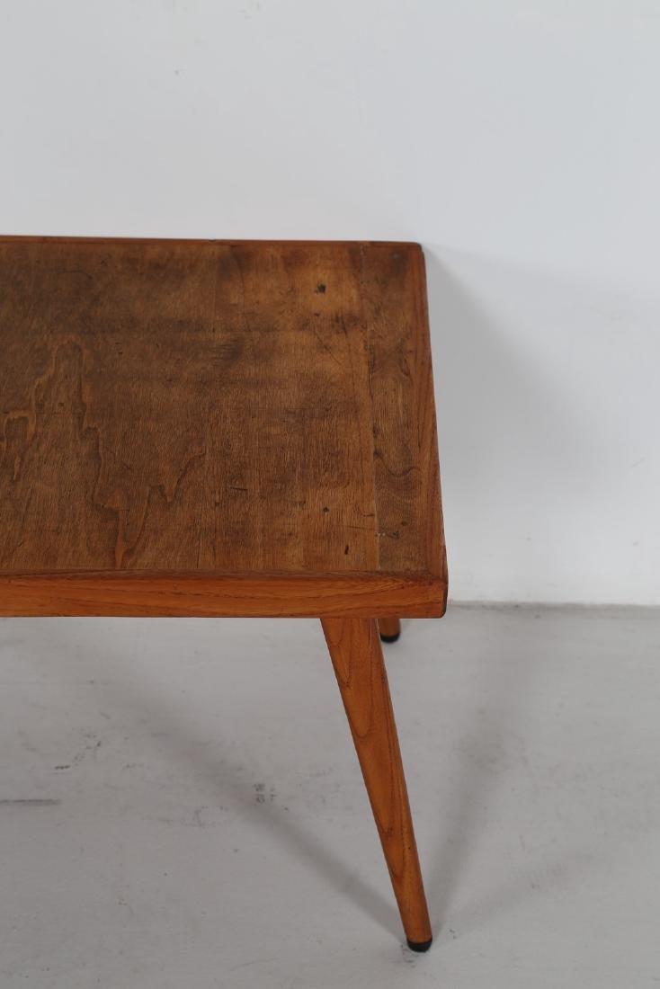 ICO PARISI Panchetta con schienalino a muro in legno e - 4