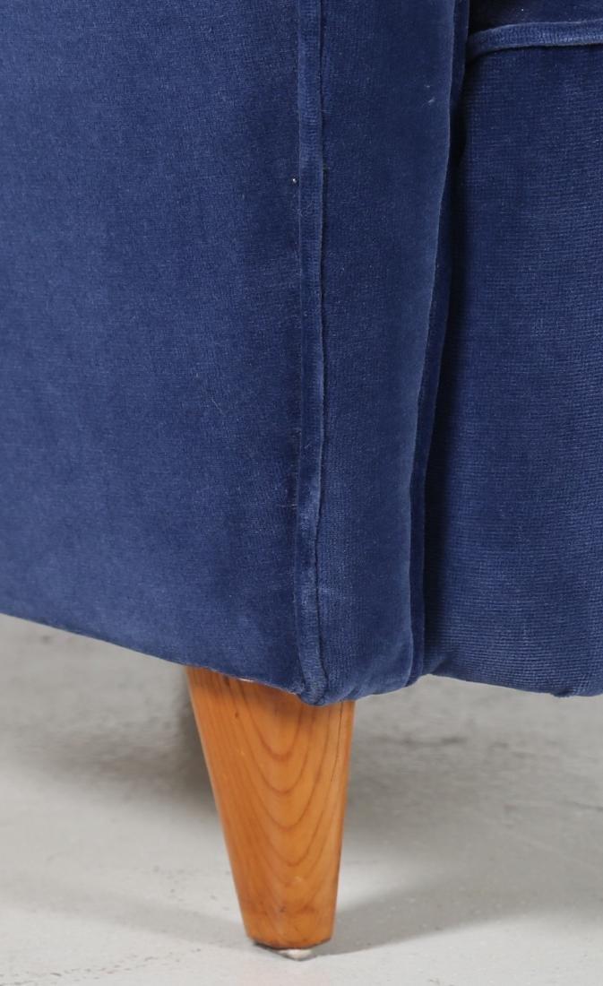 ICO PARISI Coppia di poltrone in legno e tessuto, - 5