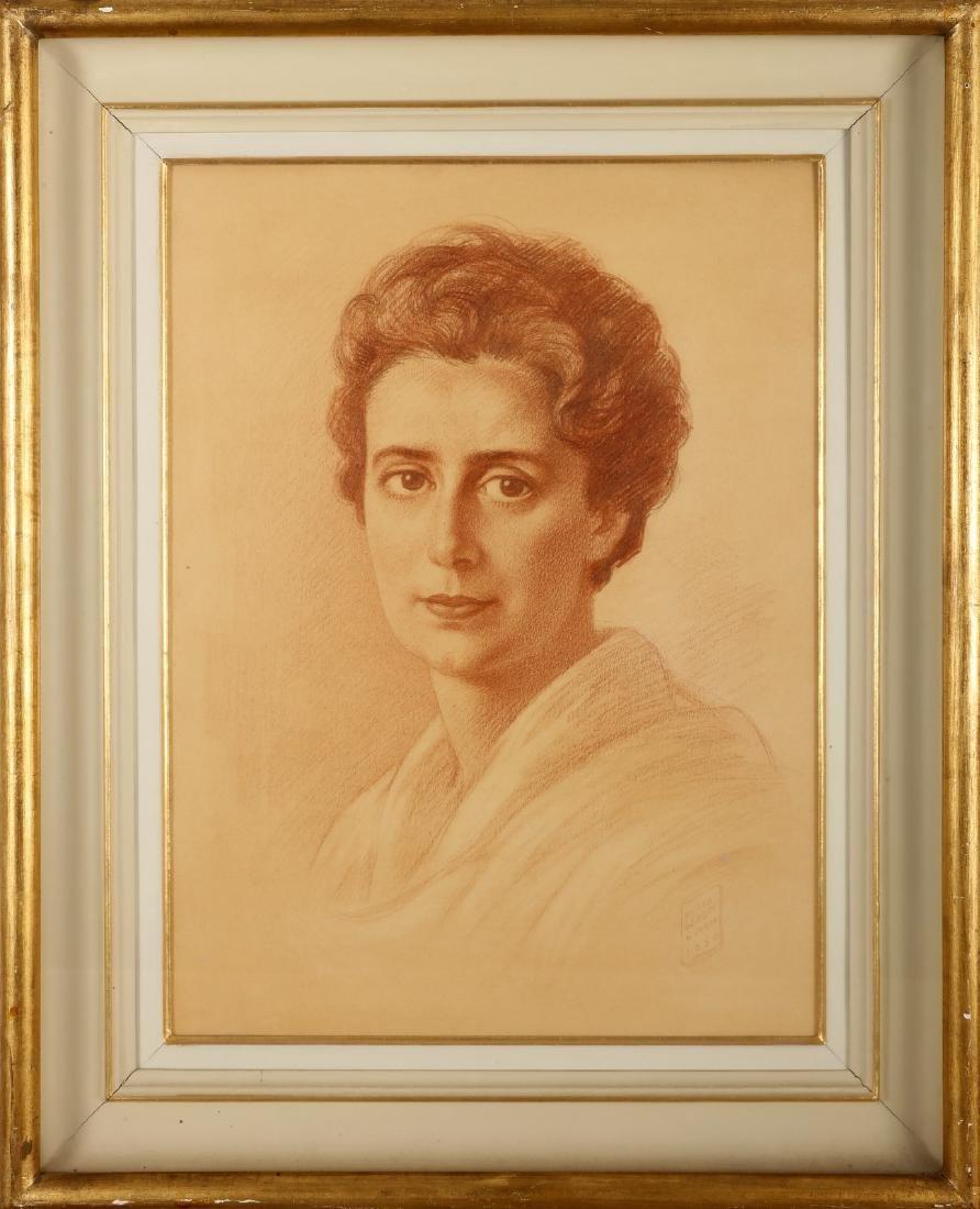 BORIS GEORGIEV Ritratto della mamma.