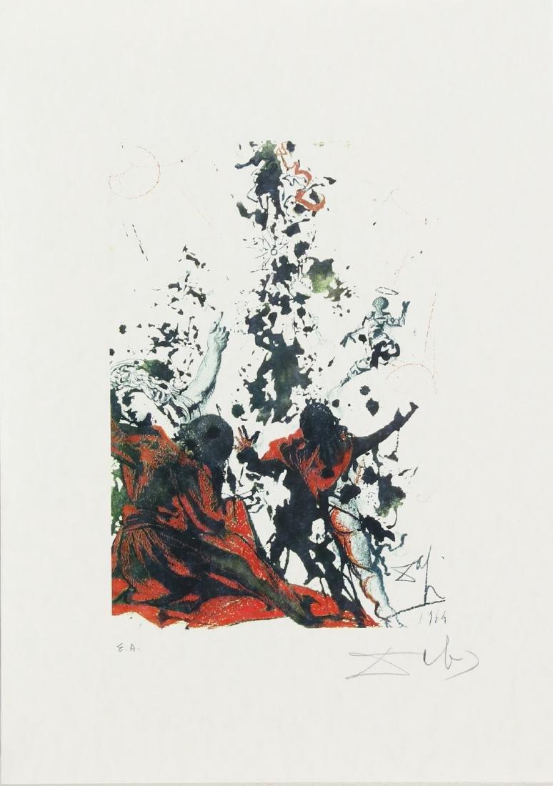 SALVADOR DALI' Cartella contenente 6 litografie. - 3