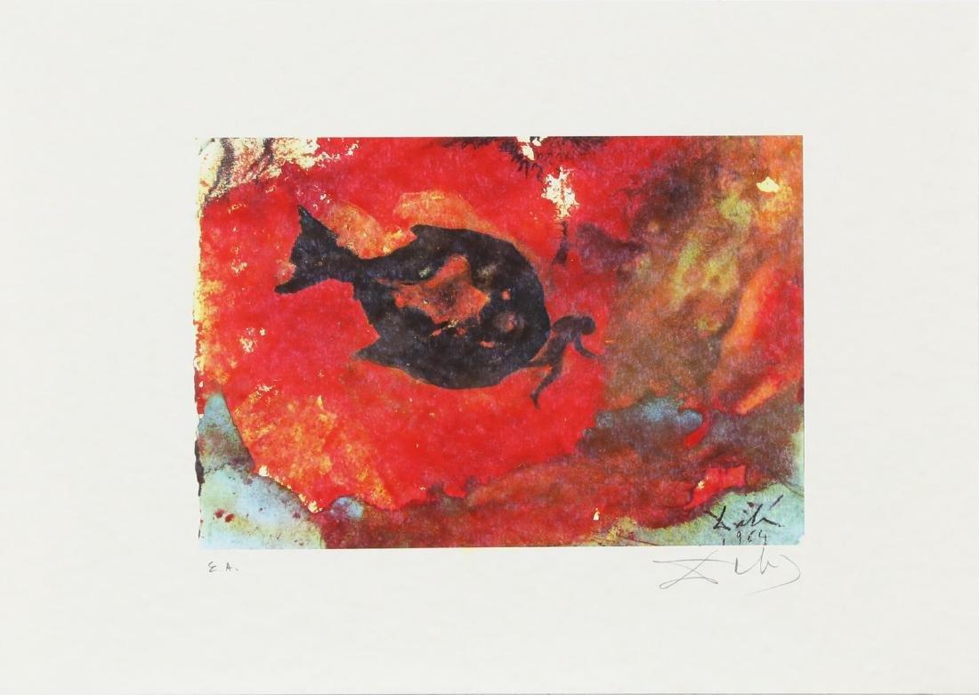 SALVADOR DALI' Cartella contenente 6 litografie. - 4