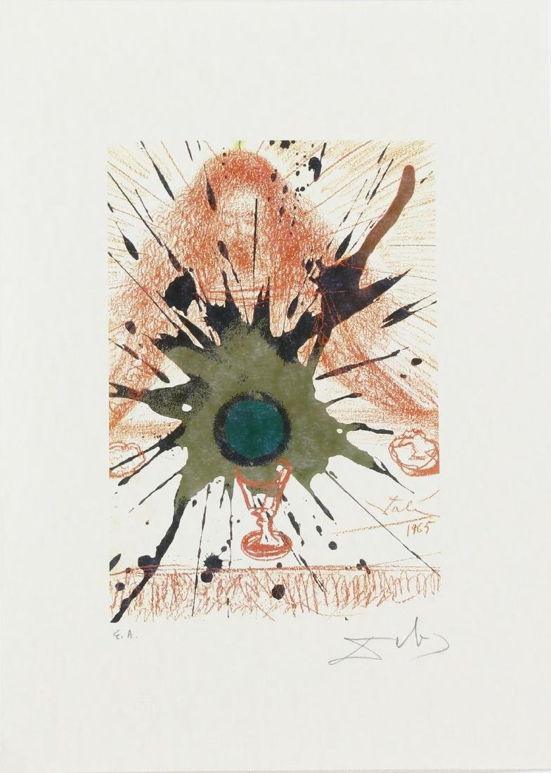 SALVADOR DALI' Cartella contenente 6 litografie. - 5